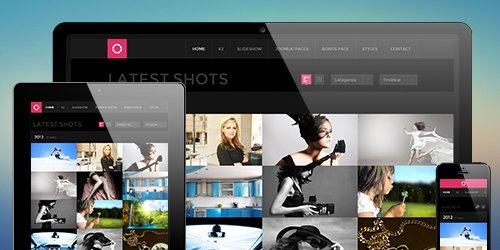 JoomlArt - JA Lens v1.0.9 - Portfolio Joomla Template
