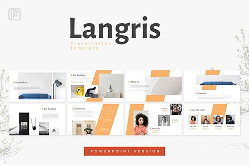 Langris - Powerpoint, Keynote and Google Sliders