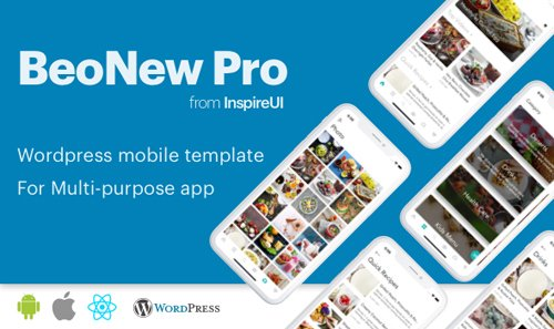 ThemeForest - BeoNews Pro v2.9.1 - React Native mobile app for Wordpress - 19186520