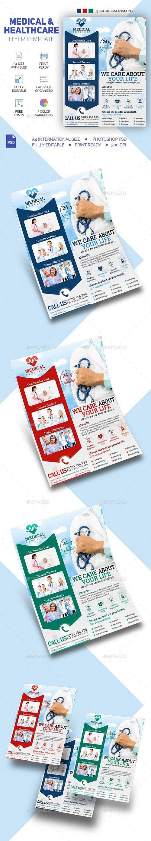 GraphicRiver - Medical & Healthcare Flyer 22730948