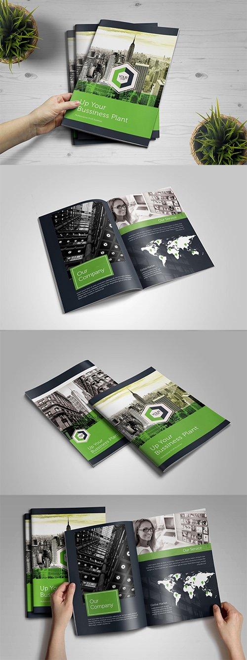 Bifold Corporate Brochure PSD