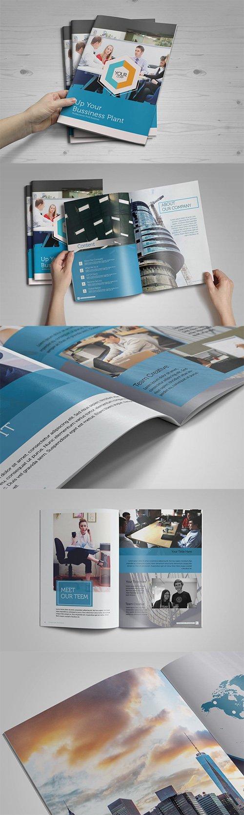 Corporate Brochure Template PSD