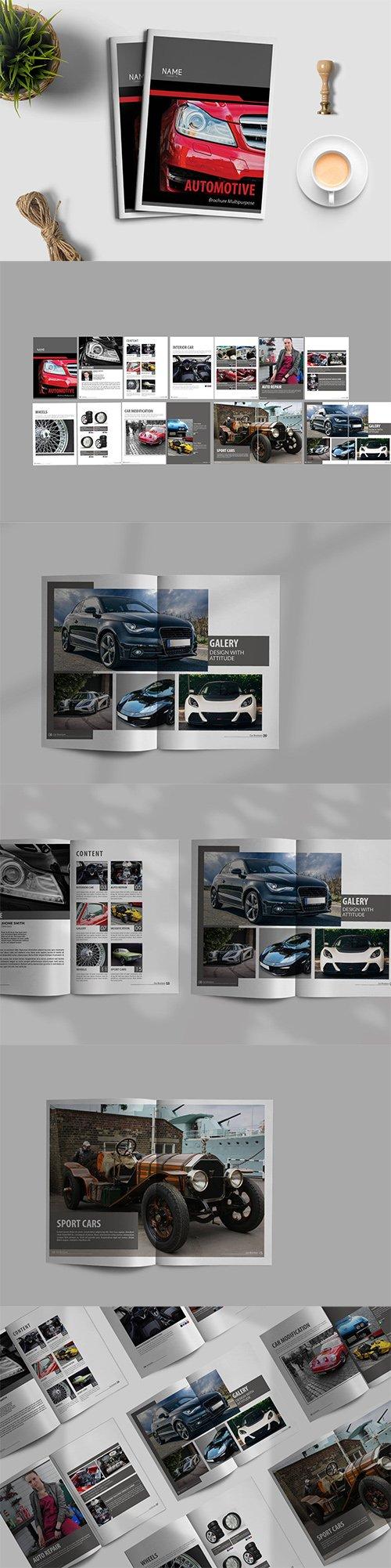 Automotive - Brochure Template PSD