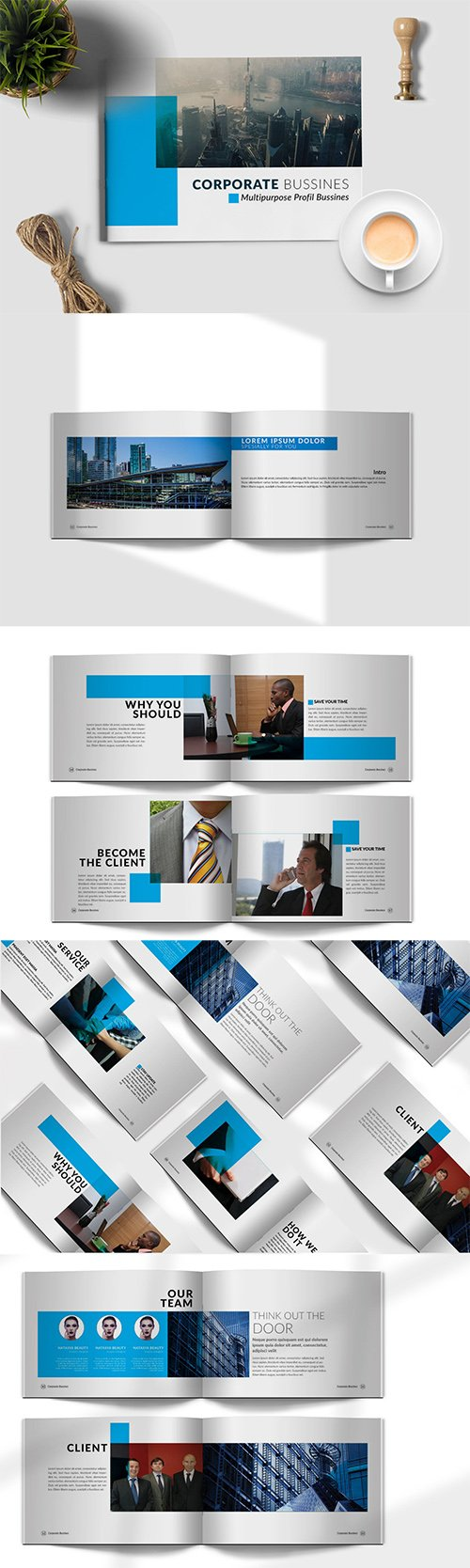 Brochure Corporate Lanscape INDD