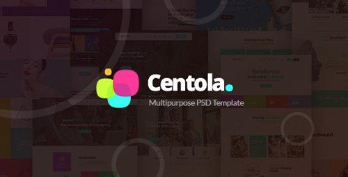 ThemeForest - Centola v1.0 - Multi-Concept PSD Template - 21568236