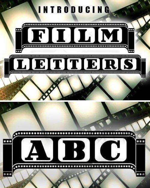 Film Letters Font