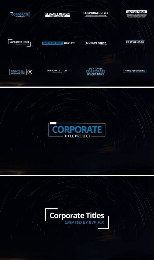 12 Corporate Titles 60256