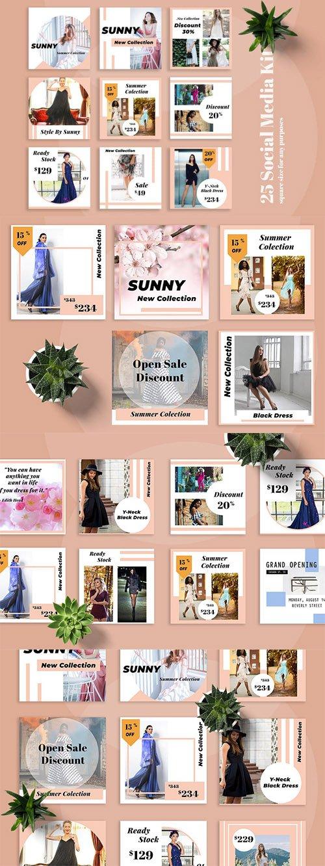 Sunny Social Media Kit - RC9ELS