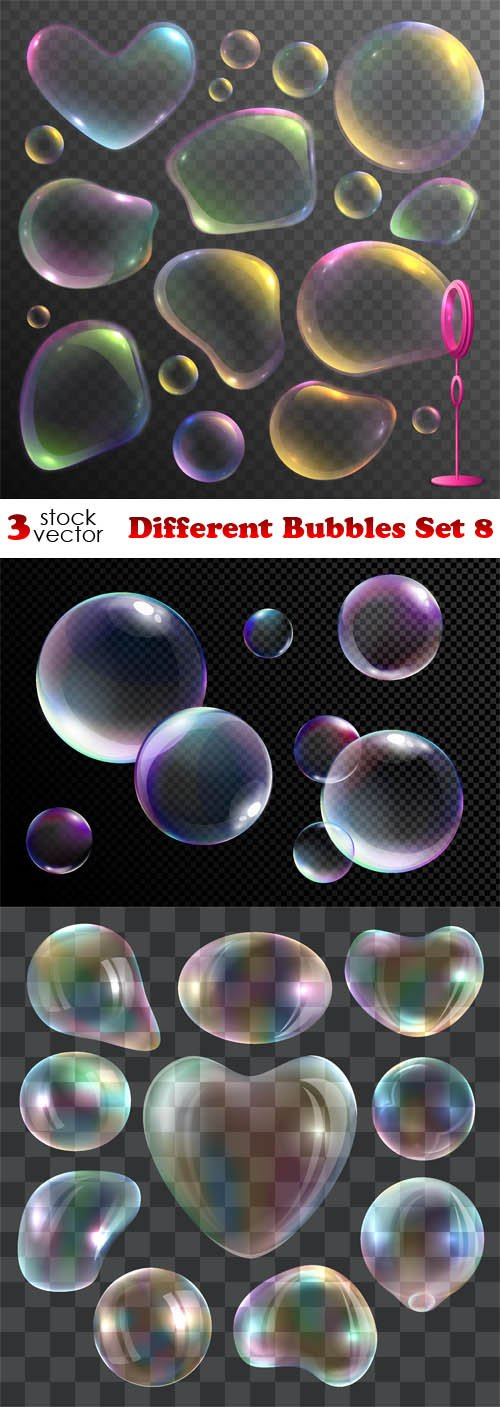 Vectors - Different Bubbles Set 8