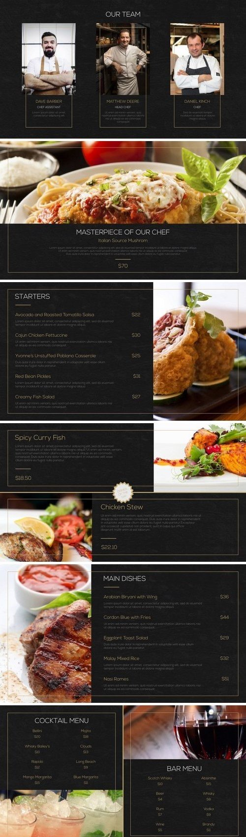 Restaurant Promo After Effects Templates 61103