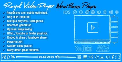 CodeCanyon - Royal Video Player v3.4 - Wordpress Plugin - 8491204