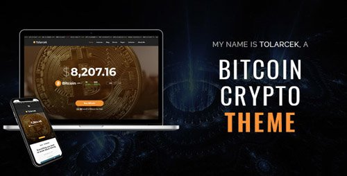 ThemeForest - Tolarcek v1.3 - A Bitcoin CryptoCurrency WordPress Blog Theme - 21388235