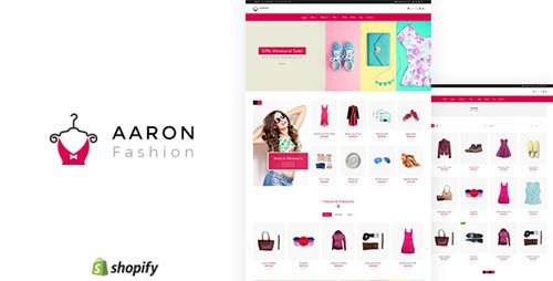 ThemeForest - Aaron v1.1 - Fashion Shopify Theme - 21580284