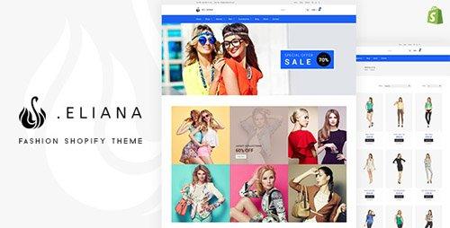 ThemeForest - Eliana v1.1 - Girls Fashion & Accessories Store Shopify Theme - 21580242