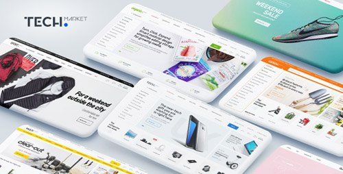 ThemeForest - Techmarket v1.2.10 - Multi-demo & Electronics Store WooCommerce Theme - 20241155