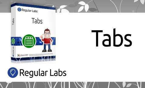 Tabs Pro v7.5.2 - Make content tabs in Joomla