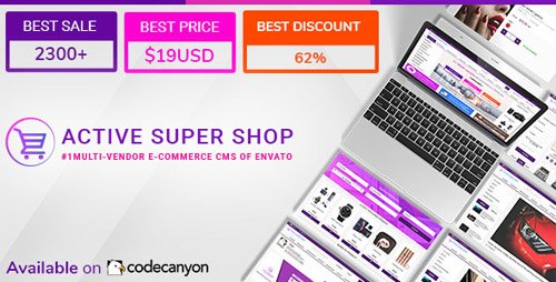 CodeCanyon - Active Super Shop v1.5.3 - Multi-vendor CMS - 12124432 - NULLED