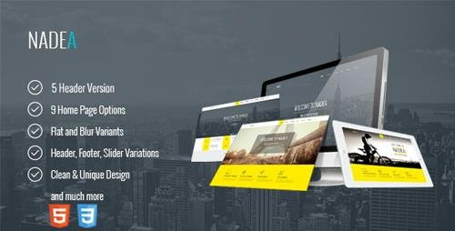 ThemeForest - Nadea - Responsive Multi-Purpose HTML5 Template (Update: 27 July 15) - 10618684