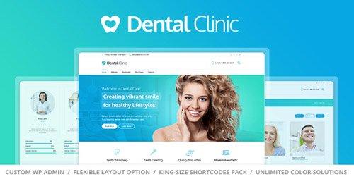 ThemeForest - Medical & Dentist WordPress Theme - Dental Clinic v1.1.2 - 13370233