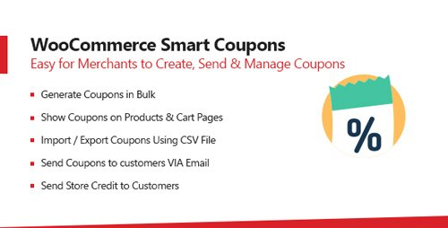 CodeCanyon - WooCommerce Smart Coupons Plugin v1 0 4 - Extended