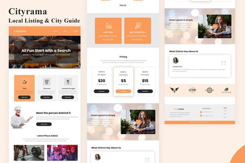 Cityrama - Local Listing & City Email Newsletter
