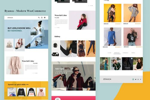Byanca - Modern WooCommerce Email Newsletter