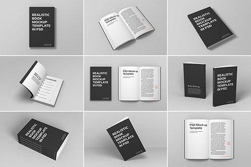 Soft Cover Book Mockup