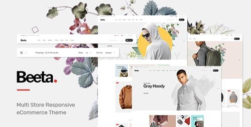 ThemeForest - Beeta v1.0 - Fashion OpenCart Theme (Included Color Swatches) - 23055030