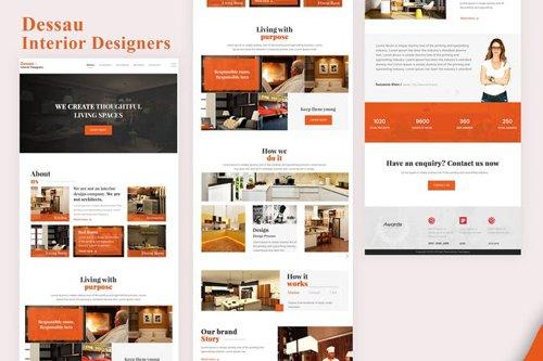 Dessau - Interior Designers Email Newsletter