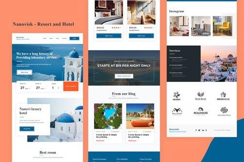 Nanovisk - Resort and Hotel Email Newsletter