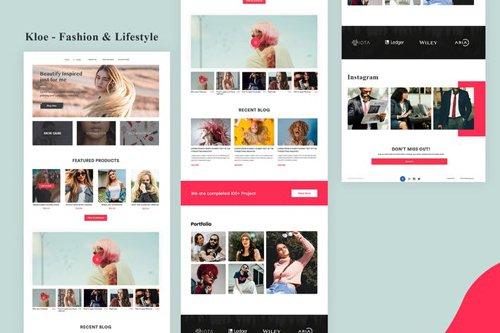 Kloe - Fashion & Lifestyle Email Newsletter
