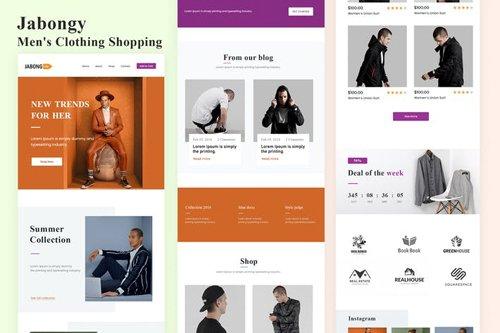 jabongy - Men's Clothing Shopping Email Newsletter