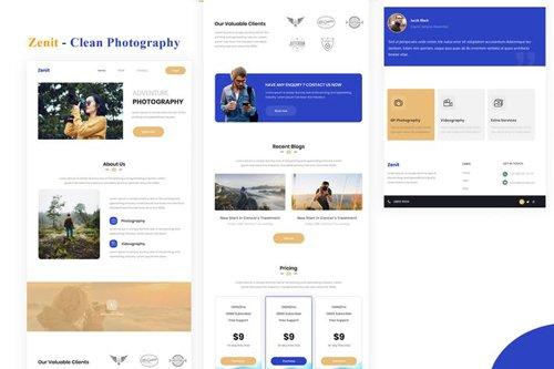 Zenit - Clean Photography Email Newsletter
