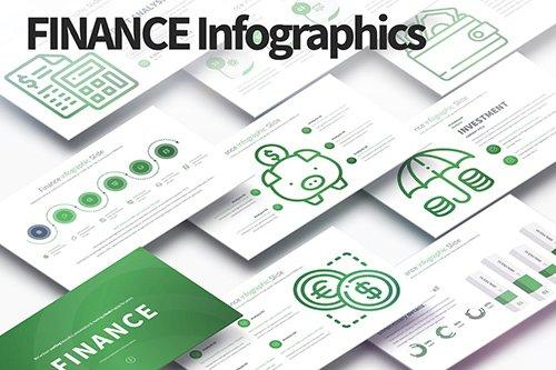 Finance - PowerPoint Infographics Slides