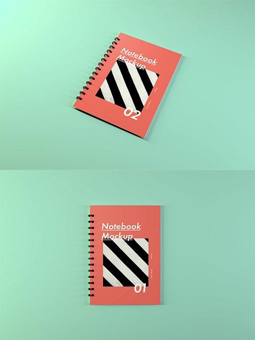 Notebook Mockups PSD