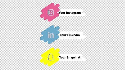 MA - Social Media Lower Thirds & Profiles 146673