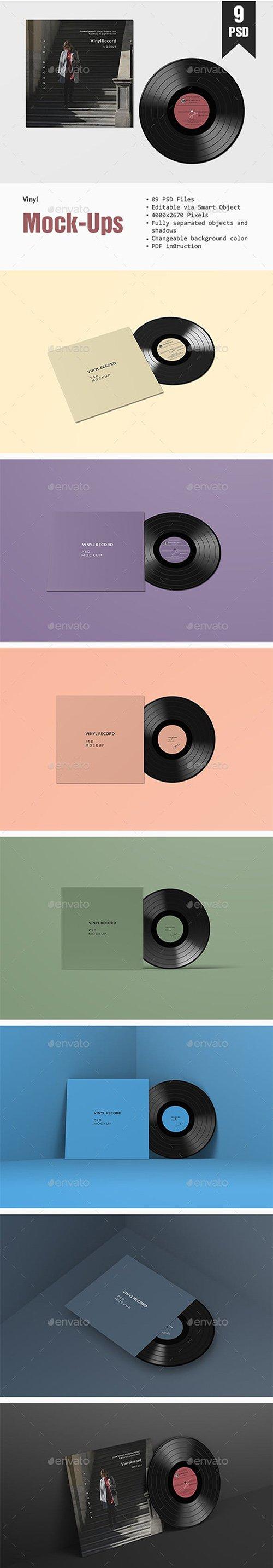 GR - Vinyl PSD Mockup 23071173