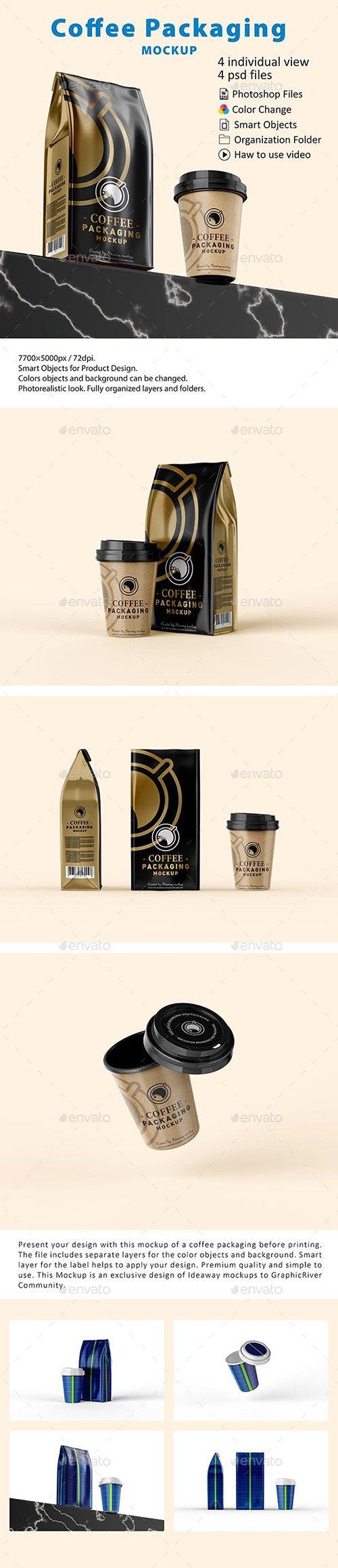 GR - Coffee Packaging Mockup 23070736