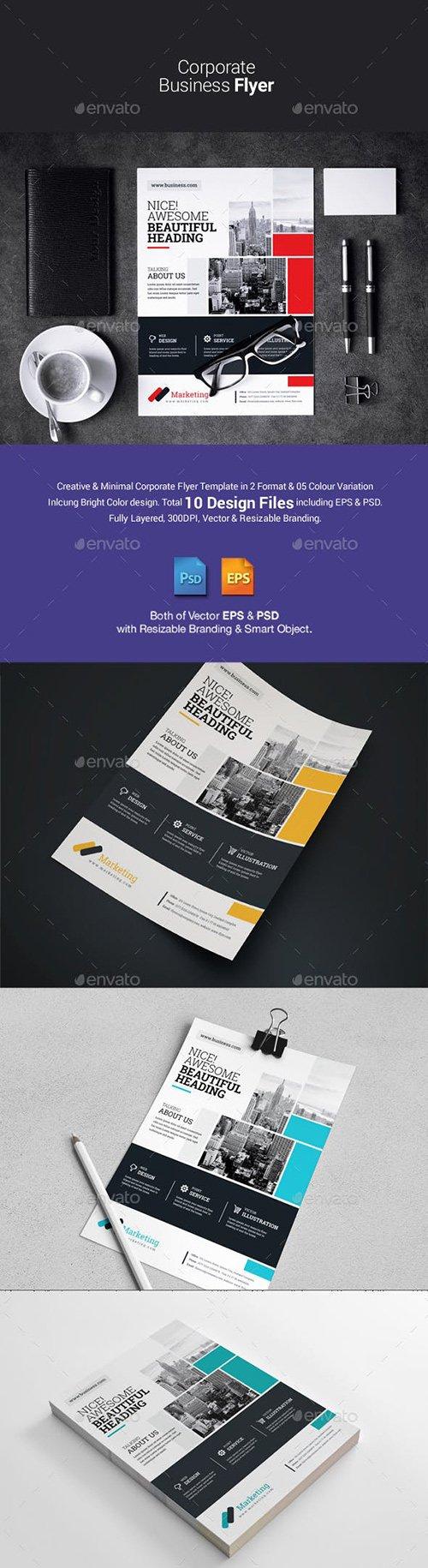 GraphicRiver - Corporate Flyer 23076880