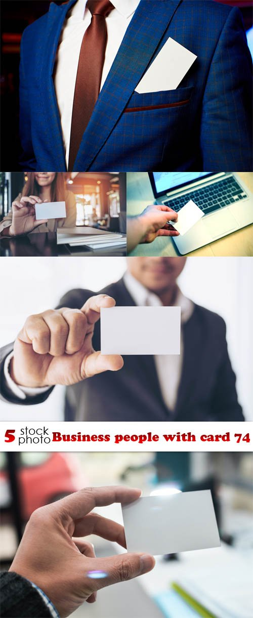 Photos - Business people with card 74