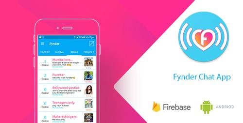 CodeCanyon - Fynder - Find, Chat,Meet - Realtime Chat Application with Firebase (Update: 29 June 17) - 20052184