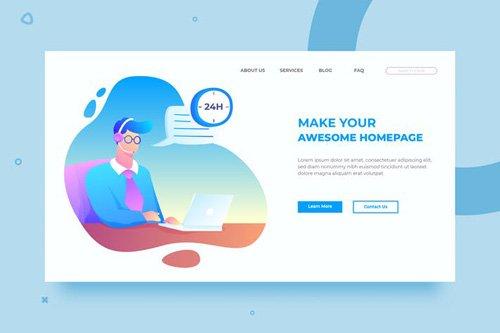 SRTP- Customer Service.01 - Banner Homepage
