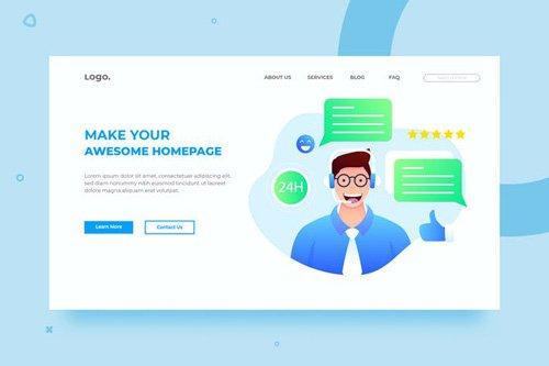 SRTP- Customer Service.03 - Banner Homepage