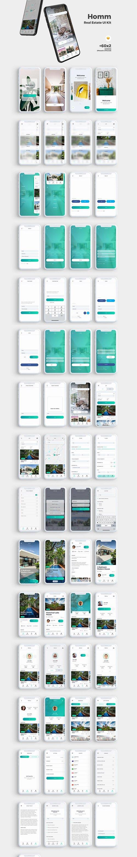 Homm Real Estate UI Kit