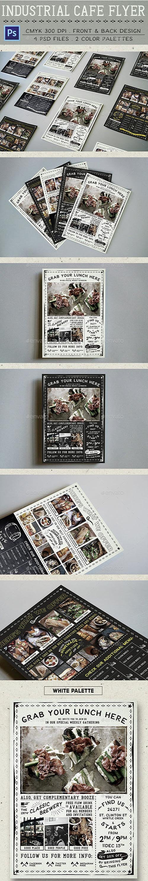 GR - Industrial Cafe Flyer 13557225