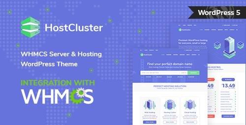 ThemeForest - HostCluster v1.5.0 - WHMCS Server & Hosting WordPress Theme - 21964631