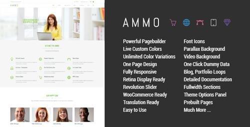 ThemeForest - Ammo v1.6 - Corporate MultiPurpose Theme - 7904832