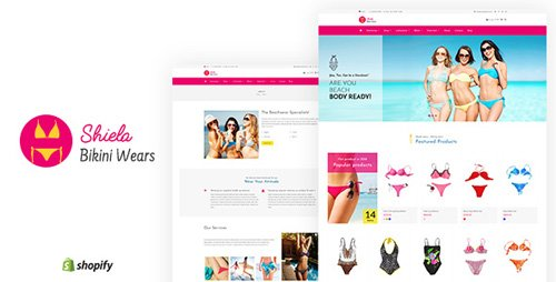 ThemeForest - Sheila v1.1 - Bikini Shopify Theme - 21573786