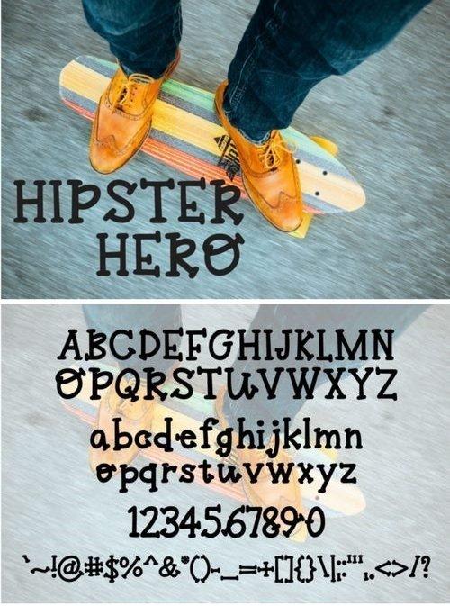 Fontbundles - Hipster Hero 111624