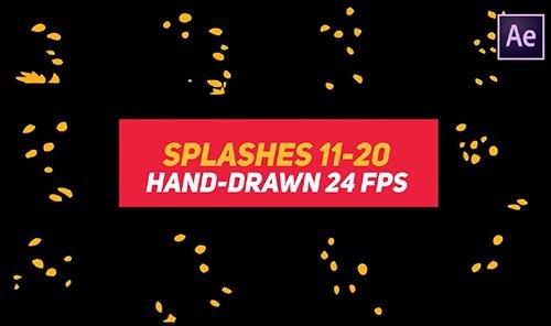 Liquid Elements 2 Splashes 11-20 85820